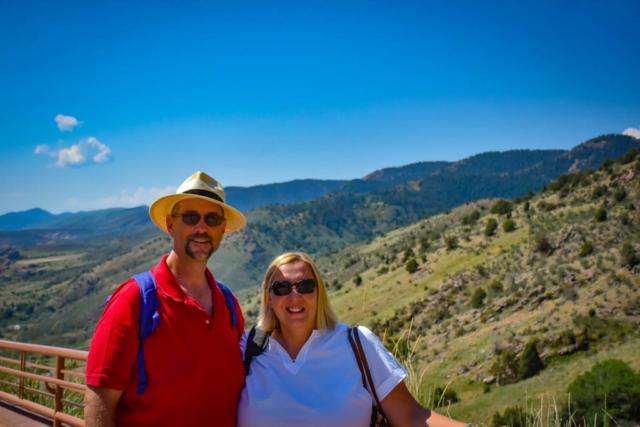 Ben and Crystal at Red Rocks