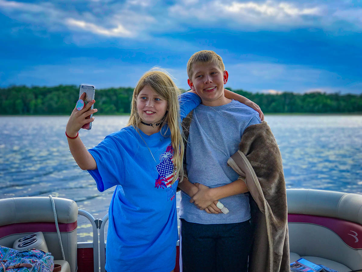 More selfies